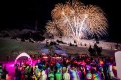 FIREWORKS   Snow Light Festival